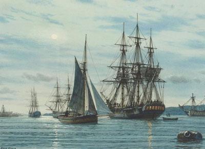marine art paintings at jack fine art